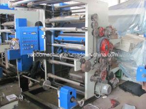 Two Color Plastic Bag Flexo Printing Machine pictures & photos