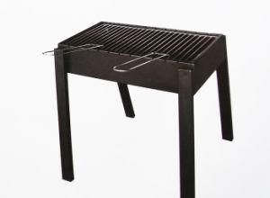 Rectangular Black Charcoal Grill