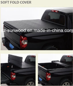 Soft Vinyl Tri-Fold Tonneau Cover pictures & photos