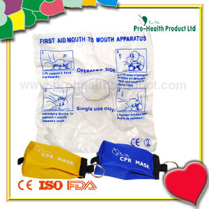 Disposable Mouth To Mouth CPR Breathing Mask With Keychain pictures & photos