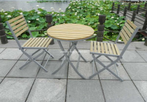 Outdoor Garden Synthetic Wood Dining Set pictures & photos