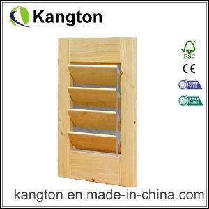 Wood Shutter/Louver Door (KD02G) (Shutter Door) pictures & photos