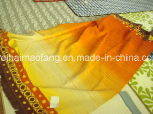 100% Organic Cotton Blanket with Jacquard Design (NMQ-CBB-003) pictures & photos
