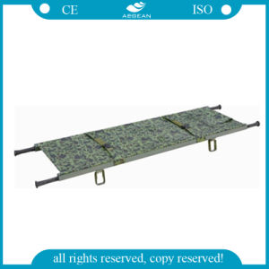 AG-2d Hospital Stretcher Spine Board Foldaway Stretcher pictures & photos