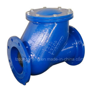 Ball Swing Check Valve Flange End pictures & photos