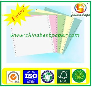 52g Green CFB Carbonless Paper pictures & photos