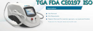 Laser Beauty Equipment Permanent Australia Tga Approval with FDA pictures & photos