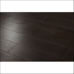 Antique Style Black Color Engineered Wood Flooring (wood flooring) pictures & photos