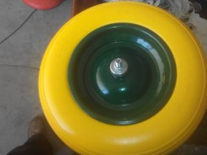 Wheelbarrow PU Foam Puncture Proof Wheel pictures & photos