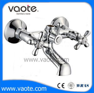 Double Handle Brass Body Bath Faucet (VT61101) pictures & photos