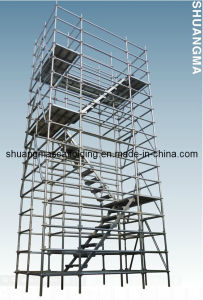 En12810 Construction Platform Ringlock Scaffold System pictures & photos