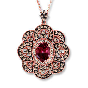 Fashion Jewelry 925 Silver Pedants Micro Setting Ruby Stone pictures & photos