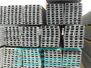 Hot Rolled Steel Channel for Construct/Building Ss400/Q235/S235jr pictures & photos