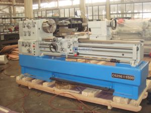 CE High Precision Gap Bed Universal Lathe Machine (C6256) pictures & photos