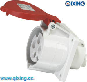 IP44 Panel Socket for Industry Application with CE Certification (QX1399) pictures & photos