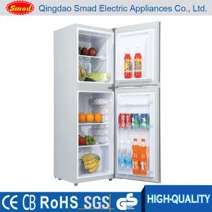 best selling solar power custom double door fridge for sale