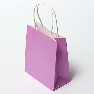 Colorful Kraft Paper Gift Bag Wedding Party Handle Paper Gift Bag Kraft Paper with Color Printing Shopping Bag pictures & photos