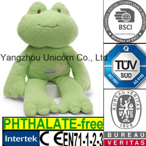CE Cozy Stuffed Animal Baby Appease Soothe Toy Plush Frog pictures & photos