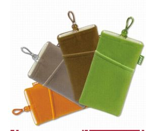 Wholesale Velvet Ceel Phone Dust Drawstring Pouch (M22) pictures & photos