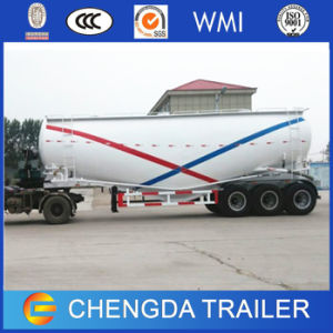 3 Axles 70ton 60m3 Cement Bulker Tanker Trailer in UAE pictures & photos