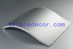 Curved Aluminum Honeycomb Panel and Honeycomb Cladding