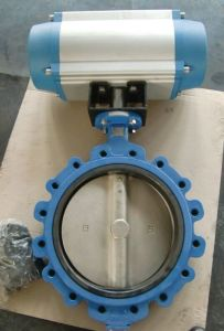 Cast Iron Lug Type Butterfly Valve with EPDM Seat 150lb/Pn16 pictures & photos