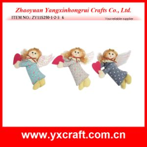 Christmas Decoration (ZY11S250-1-2-3) Christmas Decoration Girl Gift Products pictures & photos