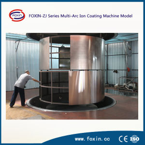 Horizontal Multi Arc Ion Stainless Steel Sheet PVD Coating Machine pictures & photos