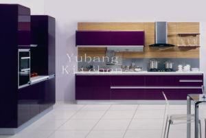 Baked Paint Kitchen Cabinet (M-L62) pictures & photos