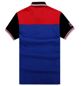 China Factory OEM Short Sleeves Mixed Colors Embroidery Patch Polo Shirt pictures & photos