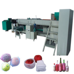 PE Foam Net Fruit Net Making Machine
