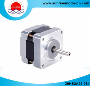 39hs 0.6A 14n. Cm NEMA16 2-Phase Hybrid Stepper Motor pictures & photos