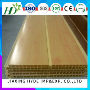 Wooden Color PVC Paneling Decoration Wall Panel China Manufacturer Supplier pictures & photos