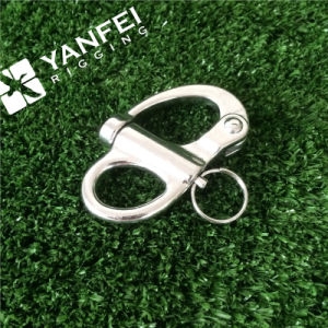 Stainless Steel AISI 304/316 Snap Shackle with Fixed Eye pictures & photos