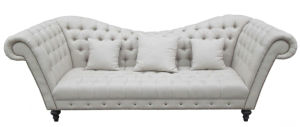 French Style Fabric Sofa Wooden Sofa (SF-2951)