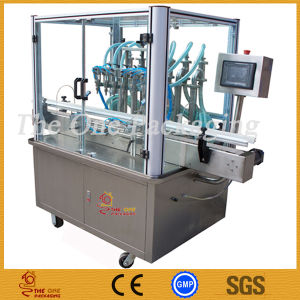 6 Nozzels 1000ml Glass/Plastic/Metal Bottle Filling Machine pictures & photos
