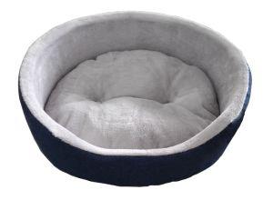 Denim & Flannel Foam Pet Bed (WY161028) pictures & photos
