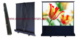 Projector Screen with Floor Pull-up pictures & photos