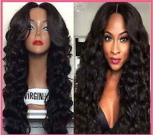 Fashion Style Indian Virgin Human Hair Glueless Full Lace Wig pictures & photos
