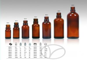 250ml Amber Glass Bottle for Pharmaceutical Use pictures & photos