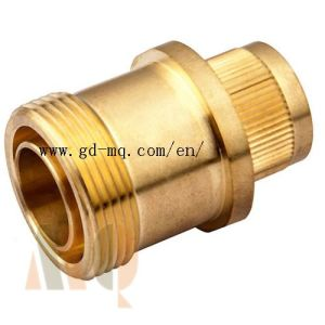 CNC Turning Brass Parts (MQ1039) pictures & photos