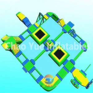 Water Equipment Park, Inflatable Floating Water Park for Water Sports pictures & photos