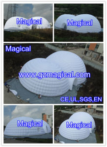 Inflatable Party Wedding Advertising Event Dome Exhibition Marquee Giant Cube Tent (MIC-607) pictures & photos