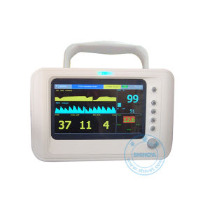 7 Inch Color Veterinary Multiparameters Monitor with Etco2 (Capno-60) pictures & photos