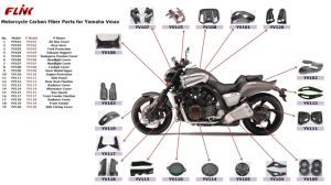 Carbon Fiber Parts for YAMAHA Vmax 2007/2012 pictures & photos