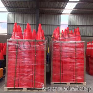 Flexible Road Safety Traffic Cone Used PVC Cones pictures & photos