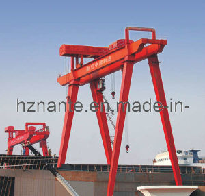 Shipbuilding Gantry Crane (QME50T-50T-60T-32M-32M) pictures & photos