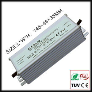 50W Constant Current Waterproof IP67 LED Driver with Ce/RoHS pictures & photos