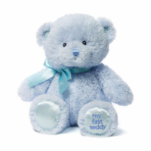 Super Soft and Stuffed Blue Teddy Bear Plush Toy pictures & photos