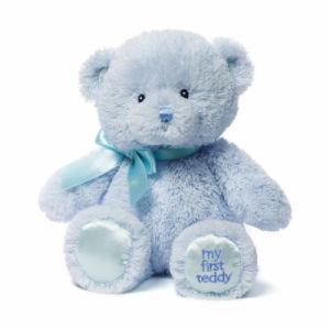 Super Soft and Stuffed Blue Teddy Bear Plush Toy